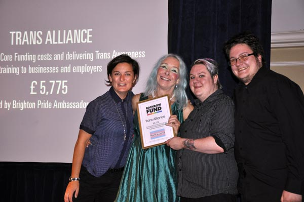 Rainbow Awards Trans Alliance